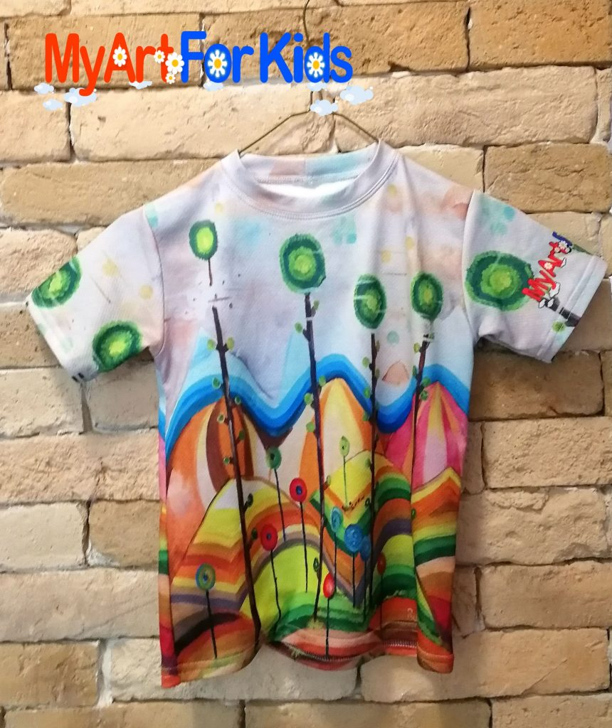 Candies t-shirt for kids
