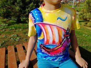 T-Shirt: Sinbad, the legend of the seven seas