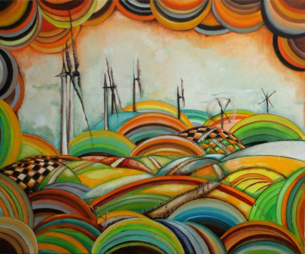"""Il Camino de Santiago - Windmills"""