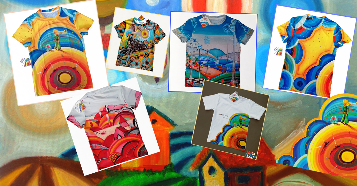 T-Shirts My Art For Kids
