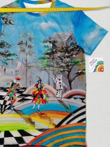 T-shirt: Arlecchino, Colombina and Pierrot