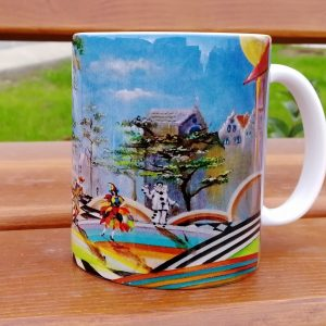 "Mug ""Arlecchino, Colombina and Pierrot"""