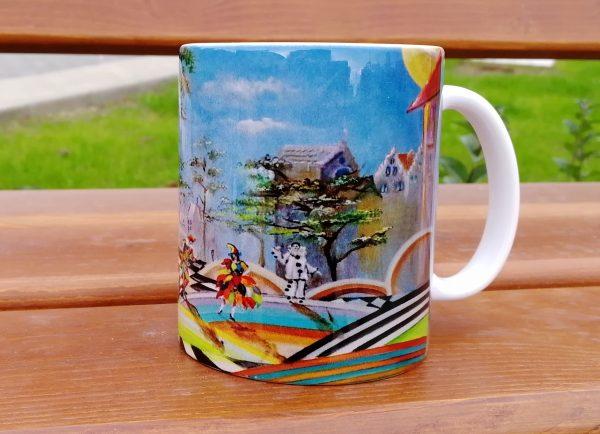 """Mug """"Arlecchino, Colombina and Pierrot"""""""