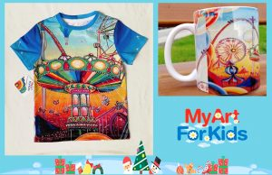 T-shirt and Mug My Art For Kids