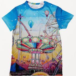 Funfair T-shirt in multicolor for 10, 12 y/o