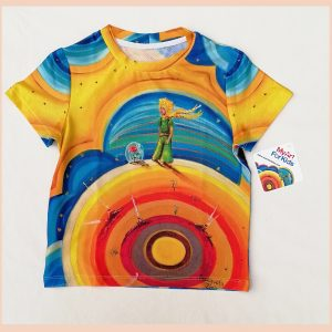 The Little Prince Sublimation t-shirt for 2 y/o