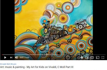 """My Art for Kids"" and Vivaldi – a wonderful combination"